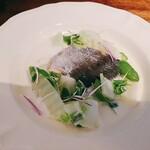 SATO - 秋鮭と旬野菜のクリーム蒸し