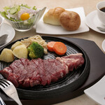 カフェ&レストラン えすと - 料理写真:ステーキコース