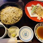 やま竹 - もりせいろ、牡蠣の天ぷら