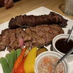 カリフォルニアラウンジ - メインのステーキ
