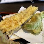 鎌倉おでん波平 - 野菜の天ぷら