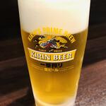 けいらく - 生ビール