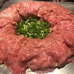 炊き肉 牛ちゃん - 特選リブロース炊き肉(4,000円/人+税)