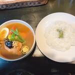 141276436 - 【2020/11】チキン野菜カレー辛さ30
