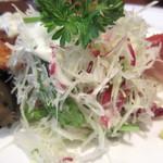 洋食の店 アラカルト - シャキシャキきゃべつ美味。