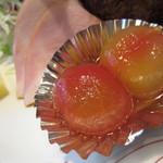 洋食の店 アラカルト - このトマトが美味しくて3個食べました^^;
