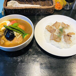 141283362 - チキン、ポーク野菜(お肉2人分入り)
