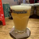 ベルギービール&欧風料理 刻シラズ - ヒューガルデンホワイト(400ml) 750円