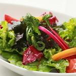 ラグーン - 特殊野菜のサラダ[700円]こだわりの野菜をシャキシャキと新鮮なサラダでご堪能くださいませ