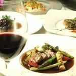 ラグーン - 旬の食材、こだわりの食材を使用した南仏プロヴァンス料理を是非ご堪能下さいませ。