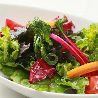 健康にピッタリな料理をご用意しております。