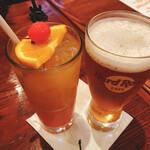 ハードロックカフェ - ノンアルビールとカクテル