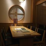 源氏総本店 - 早くから予約するとこの席。