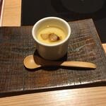 源氏総本店 - あんかけ茶碗蒸し松茸入り。