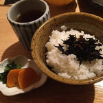 源氏総本店 - ご飯は二人共にお残ししちゃいました。