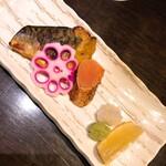 141295964 - 鯖の胡麻味噌漬け焼き