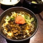 薩摩ごかもん - 高菜明太混ぜご飯