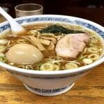 中華そば つけ麺 甲斐 - 味玉そば(大盛り)