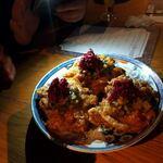 なっぱjuicy - 鶏のザクザク揚げ柴漬と生姜たれ