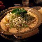 なっぱjuicy - 鴨と東岸の濃厚だし汁雑炊