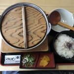 釜田 - 料理写真:親子味噌煮込みうどん 1000円(税込)