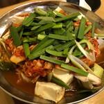 達磨 - キムチ鍋