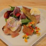 ペリフェリコ - ランチの前菜