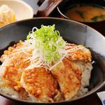 稲月 - かつおの天ぷら丼 単品680円