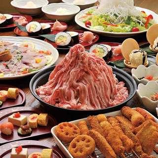 旨い串カツが味わえる2,400円~の宴会料理が好評。