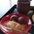 茶房 含空院 - 料理写真:粟餅と煎茶