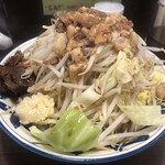 豪麺 マルコ - 特小らーめん 細麺 全マシ(730円)