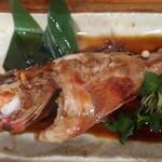 横浜商店 - 本日の煮魚(キンキ):?円