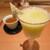 雪月花 銀座 - ドリンク写真:静岡産クラウンメロンのスムージー