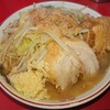 ラーメン二郎  - 料理写真:ラーメン並  ニンニク  アブラ