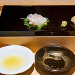 鮨 一 - 山口県白バイ貝