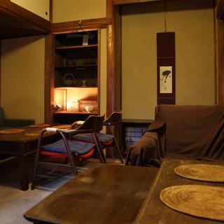 古民家をそのままお店にした懐かしい雰囲気漂う居酒屋です。