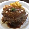 大衆ビストロ原田屋 - 料理写真:手ごねハンバーグステーキ
