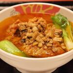 台湾菜館 弘城 - おじ様ランチ(排骨麺)
