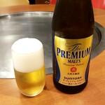 広島県府中市アンテナショップNEKI - 瓶ビール:660円