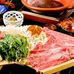 萬佳亭 - 料理写真:和牛すきやきプラン