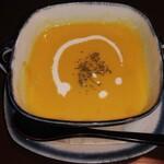 Cafe Mimpi - かばちゃのポタージュスープ