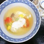 京料理 萬長 - 晩秋から冬の京料理 甘鯛(ぐじ)と海老の蕪蒸し