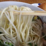 らーめん秀 - 細麺