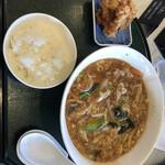 Daisenakukantorikurabu - 鳥取チャンポン麺セット1480円