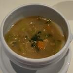 アシエット - 野菜スープ