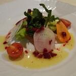 アシエット - 魚介のサラダ仕立て