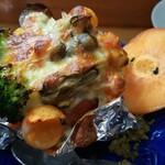 お料理やまもと - 柿の牡蠣グラタン