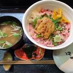 咲乃家 - 料理写真:【2020/11】ウニトロ丼全景