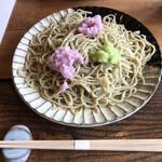 そばんち - 三色辛味大根蕎麦の倍盛