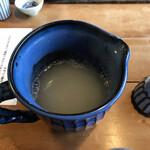 そばんち - 蕎麦湯